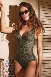 Green nature egyrészes női fürdőruha
