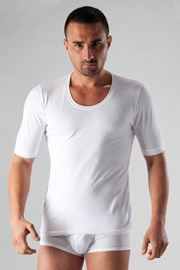 Basic férfi póló fehér