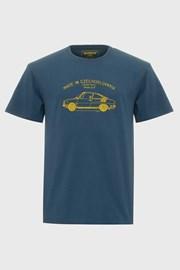 Kék póló Bushman Bobstock