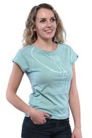 Bushman Kira női zöld póló