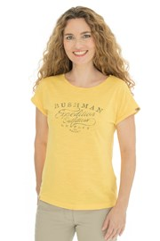 Bushman Kira sárga női póló