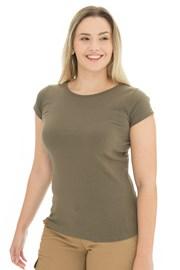 Bushman Natalie II olívazöld női póló