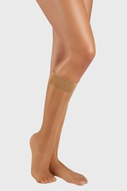 2 PÁR női szilon zokni, 6 DEN