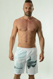 Cyprinus férfi fürdősort, fehér