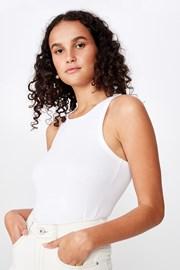 Turnback női basic atléta, fehér