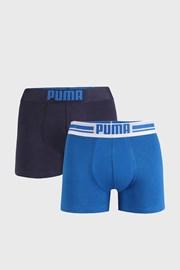 2 DB kék boxeralsó Puma Placed Logo