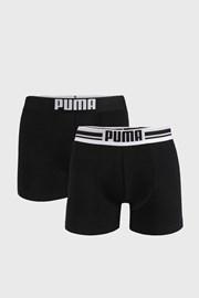 2 DB fekete boxeralsó Puma Placed Logo