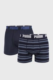 2 DB sötétkék boxeralsó Puma Heritage Stripe