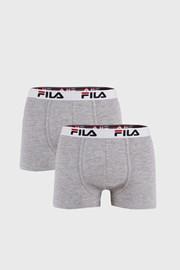 FILA v.I férfi boxeralsó szürke, 2 db-os csomagolás