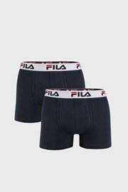 FILA v.I férfi boxeralsó sötétkék, 2 db-os csomagolás