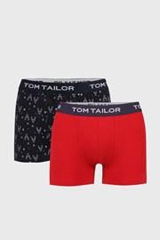 2 DB kék-piros boxeralsó Tom Tailor