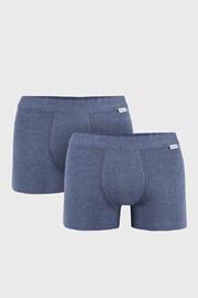 Uomo Extra kék boxeralsó, 2 db 1 csomagban