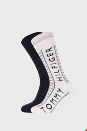 2 PÁR magas szárú zokni Tommy Hilfiger