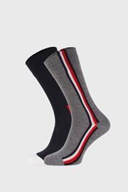 2 PÁR magas szárú zokni Tommy Hilfiger Iconic Hidden