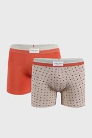 2 DB narancs-bézs boxeralsó Marks