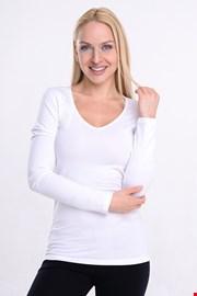 Garzato női póló, hosszú ujjakkal