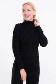 Lunga női póló, hosszú ujjú, garbóval