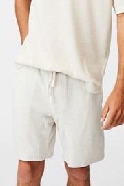 Krémszínű sort nadrág Supersoft
