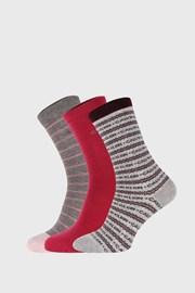 3 PÁR Calvin Klein Caterina női zokni