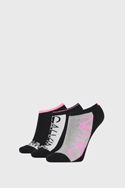 3 PÁR Calvin Klein Nola női zokni, fekete
