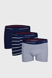 Parker boxeralsó, kék-szürke, 3 db 1 csomagban