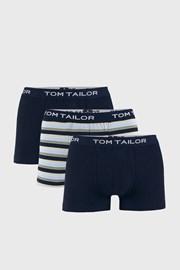 3 DB kék boxeralsó Tom Tailor Elastic