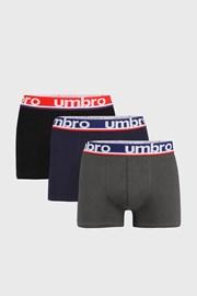 3 DB férfi boxeralsó Umbro Bio Organic