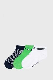 3 PÁR Matcha rövid szárú zokni