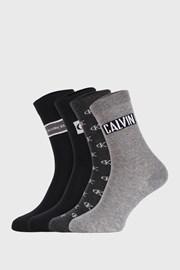 4 PÁR Calvin Klein Bronx I női zokni