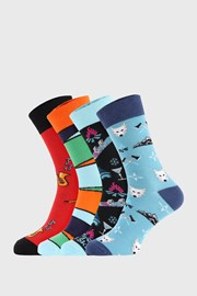 4 PÁR zokni Bellinda Crazy Socks Winter