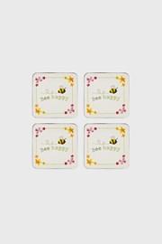 Parafa poháralátétek szettben Bee happy