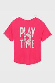 Mayoral Playtime lányka póló, rózsaszínű