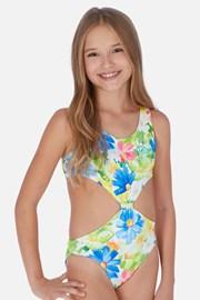 Tropical egyrészes lányka fürdőruha