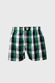Fekete-zöld kockás alsónadrág Represent Classic Ali