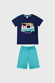 Busz fiú pizsama