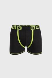 Fekete-zöld boxeralsó Bellinda Bmen