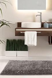 Bati fürdőszobai kilépő, barna