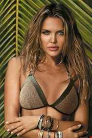 Casablanca khaki bikinifelső
