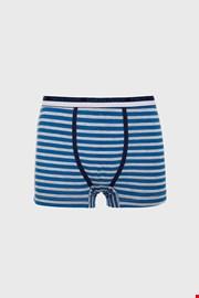 Szürkés-kék fiú boxeralsó