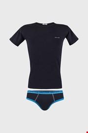 Fiú kék alsónemű szett, alsó és póló