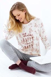 Be Happy női pizsama, melange
