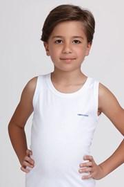 Basic fiú alsó trikó fehér