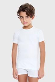 E. Coveri basic fehér fiú póló