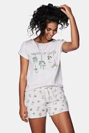 Green női pizsama