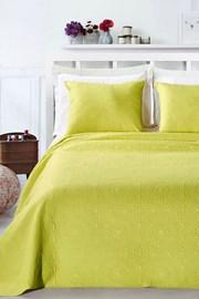 Elodie ágytakaró, limezöld
