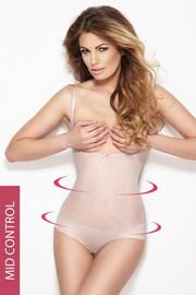 Glam alakformáló női body, tanga szabású alsórésszel