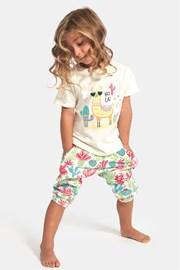 Hola lányka pizsama, láma