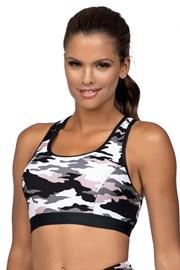 Crop Top Army női sport top