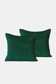 2 DB Laila zöld kispárnahuzat