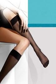 Finom női térdzokni, Lycra 15 DEN, 2 pár 1 csomagban